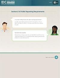 Section 618 Public Reporting Requirements