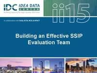 Building an Effective SSIP Evaluation Team