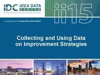 Collecting and Using Data on Improvement Strategies