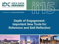 Depth of Engagement:  Important New Tools for Reference and Self-Reflection