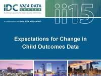 Expectations for Change in Outcomes Data
