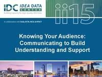 Knowing Your Audience: Communicating to Build Understanding and Support
