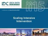 Scaling Intensive Intervention