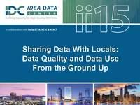 Sharing Data With Locals:  Data Quality and Data Use From the Ground Up