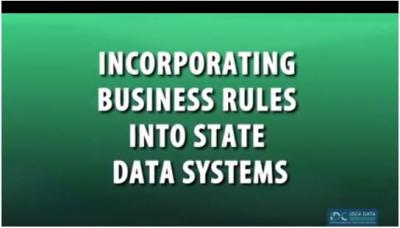 Incorporating Business Rules into Data Systems