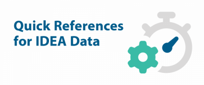 Quick references for IDEA data